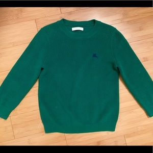 Burberry Shirts & Tops - Authentic Burberry Boys sweater green